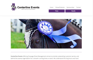 centerline events dressage showmanagement