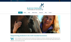 Kelly Sigler Website Homepage